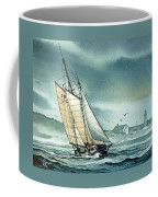 Schooner Voyager Coffee Mug by James Williamson
