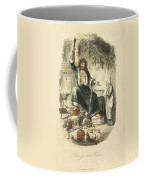 Scrooges Third Visitor Coffee Mug by Philip Ralley