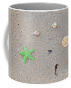 Sea Swag - Green Coffee Mug by Al Powell Photography USA