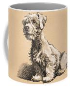 Sealyham Coffee Mug by Cecil Charles Windsor Aldin