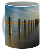 Seascape Wales Coffee Mug by Adrian Evans