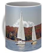 Seasonal Sailing Coffee Mug by Susan Leggett