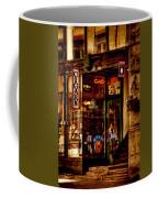 Seattle Cigar Shop Coffee Mug by David Patterson