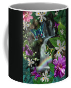 Secret Butterfly Coffee Mug by Alixandra Mullins
