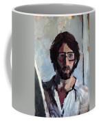 Self Portrait 1982 Coffee Mug by David Baruch Wolk