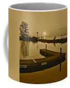 Sepia Sunset Coffee Mug by Frozen in Time Fine Art Photography