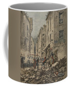 Serious Troubles In Italy Riots Coffee Mug by French School