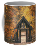 Seven Bridges Trail Head Coffee Mug by Scott Norris