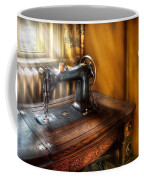 Sewing Machine  - The Sewing Machine  Coffee Mug by Mike Savad