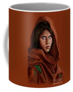 Sharbat Gula Coffee Mug by Reggie Duffie