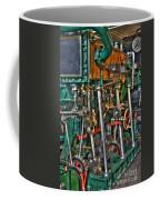 Ship Engine Coffee Mug by Heiko Koehrer-Wagner