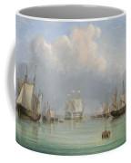 Ships Off Ryde Coffee Mug by Arthur Wellington Fowles