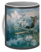 Shoot-out Over Saigon Coffee Mug by Randy Green