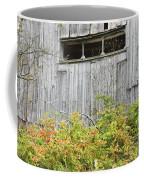 Side Of Barn In Fall Coffee Mug by Keith Webber Jr
