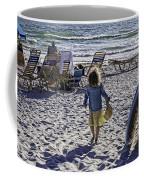 Simpler Times 2 - Miami Beach - Florida Coffee Mug by Madeline Ellis