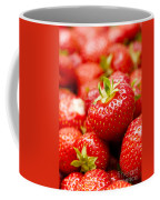 Simply Strawberries Coffee Mug by Anne Gilbert