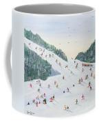 Ski Vening Coffee Mug by Judy Joel