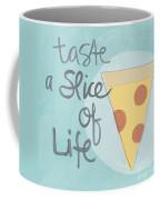 Slice Of Life Coffee Mug by Linda Woods