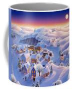 Snow Covered Village Coffee Mug by Robin Moline