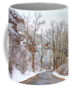 Snow Dusted Colorado Scenic Drive Coffee Mug by James BO  Insogna