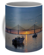 Something About A Sunrise Coffee Mug by Bill Cannon