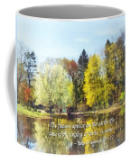 Song Of Solomon 2 11-12 -  The Flowers Appear  Coffee Mug by Susan Savad