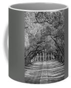 Southern Time Travel Bw Coffee Mug by Steve Harrington