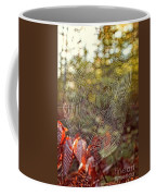 Spider Web Coffee Mug by Edward Fielding