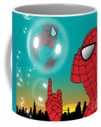 Spiderman 4 Coffee Mug by Mark Ashkenazi