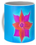 Spiral Flower Coffee Mug by Daina White