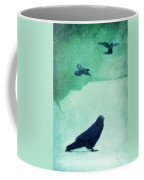 Spirit Bird Coffee Mug by Priska Wettstein