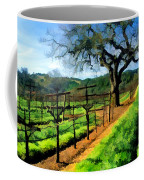 Spring In The Vineyard Coffee Mug by Elaine Plesser