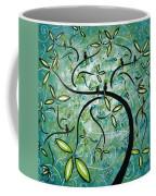 Spring Shine By Madart Coffee Mug by Megan Duncanson