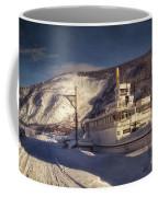 S.s. Keno Sternwheel Paddle Steamer Coffee Mug by Priska Wettstein