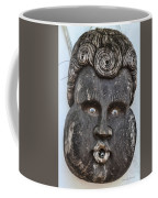 St Augustine Blue Eyes Coffee Mug by Deborah Benoit
