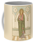 St Bartholomew Coffee Mug by English School