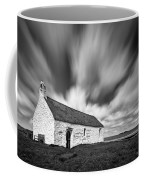 St Cwyfan's Church Coffee Mug by Dave Bowman
