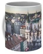 St Nicholas Prague Coffee Mug by Joan Carroll