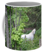 Stallion On Independence Day Coffee Mug by Patricia Keller