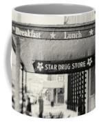 Star Drug Store Marquee Coffee Mug by Scott Pellegrin