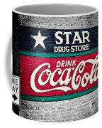 Star Drug Store Wall Sign Coffee Mug by Scott Pellegrin