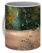 Starry Beach Night Coffee Mug by Betsy Knapp