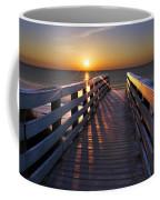 Stars On The Boardwalk Coffee Mug by Debra and Dave Vanderlaan