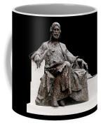 Statue Of Nizami Ganjavi  Coffee Mug by Fabrizio Troiani