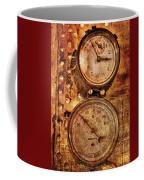 Steampunk - Gauges Coffee Mug by Mike Savad