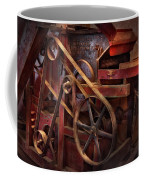 Steampunk - Gear - Belts And Wheels  Coffee Mug by Mike Savad