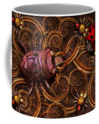 Steampunk - Insect - Itsy Bitsy Spiders Coffee Mug by Mike Savad