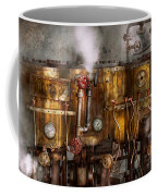 Steampunk - Plumbing - Distilation Apparatus  Coffee Mug by Mike Savad