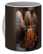 Steampunk - Powering The Modern Home Coffee Mug by Mike Savad