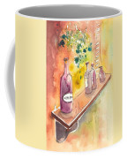 Still Life In Chianti In Italy Coffee Mug by Miki De Goodaboom